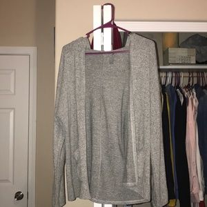 AEO hooded cardigan
